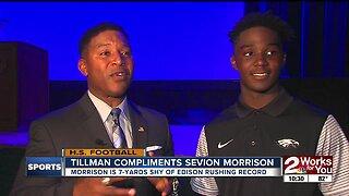 Spencer Tillman meets Sevion Morrison