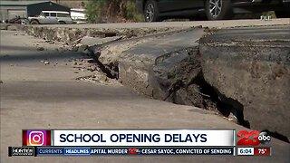 Sierra Sands Unified School District announce school opening delays