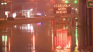 Portion of North Federal Highway closed in Boca Raton for flooded streets