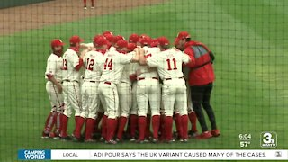 Husker baseball and softball fans attending games in-person