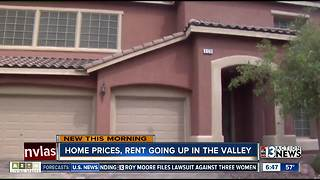 Home prices, rent continue to go up across the Las Vegas valley