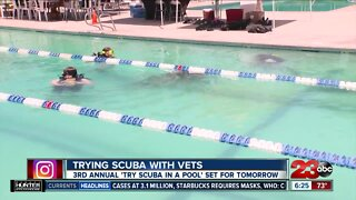 Trying Scuba with Veterans