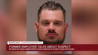 Former employer talks about suspect
