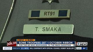 Nevada Highway Patrol troopers given Route 91 pins