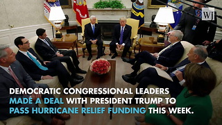 President Trump Strikes A Deal With Democrats