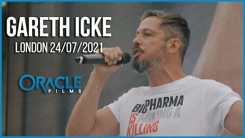 Gareth Icke | Worldwide Rally for Freedom London 24/07/21 | Oracle Films