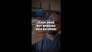 Flash drive not working?