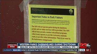 National Parks overwhelmed during shutdown