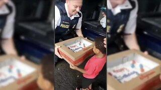 Cheektowaga police surprise local boy for his birthday
