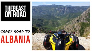 Crazy road to Albania