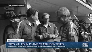 Victims in Winslow plane crash identified