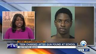 Student found with gun at Boynton High School arrested