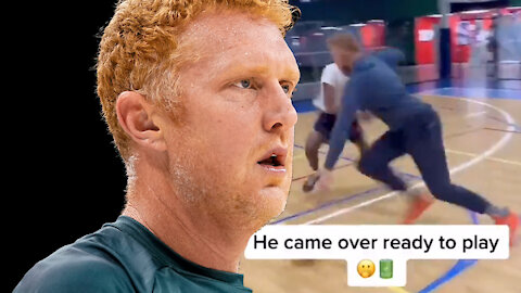 High School Basketball Player Challenges Brian Scalabrine To 1-on-1, Gets Rightfully OWNED