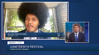 Juneteenth events: Young Activist speaking Sunday