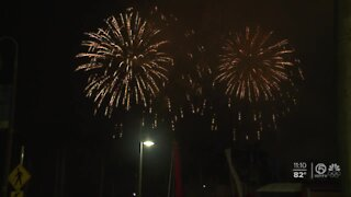 Thousands celebrate July Fourth in downtown West Palm Beach