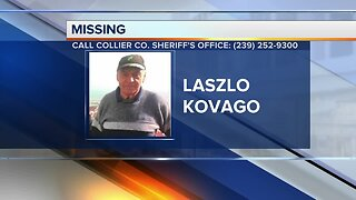 Collier COunty man Laszlo Kovago reported missing Monday night