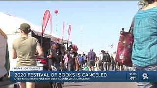 Festival of books canceled following coronavirus concerns