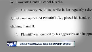 Lawsuit claims former Williamsville teacher choked a student