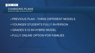 Appleton Area School District changes course
