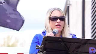 Nurse Kristal Pitter's speech at the 'No More Lockdowns' rally in Norwich, Ont.