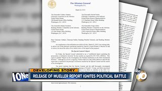 Calls to release Muller report ignites political battle