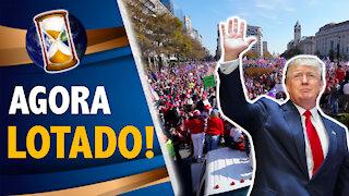 AGORA! MANIFESTAÇÕES PRO TRUMP INVADEM WASHINGTON !
