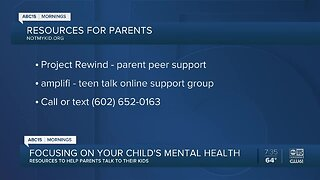 Resources for parents to help their children's mental health during COVID-19 pandemic