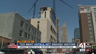Kansas City navigating excess number of hotel rooms