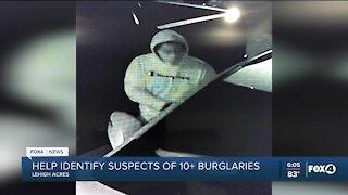 Deputies looking for burglary suspects