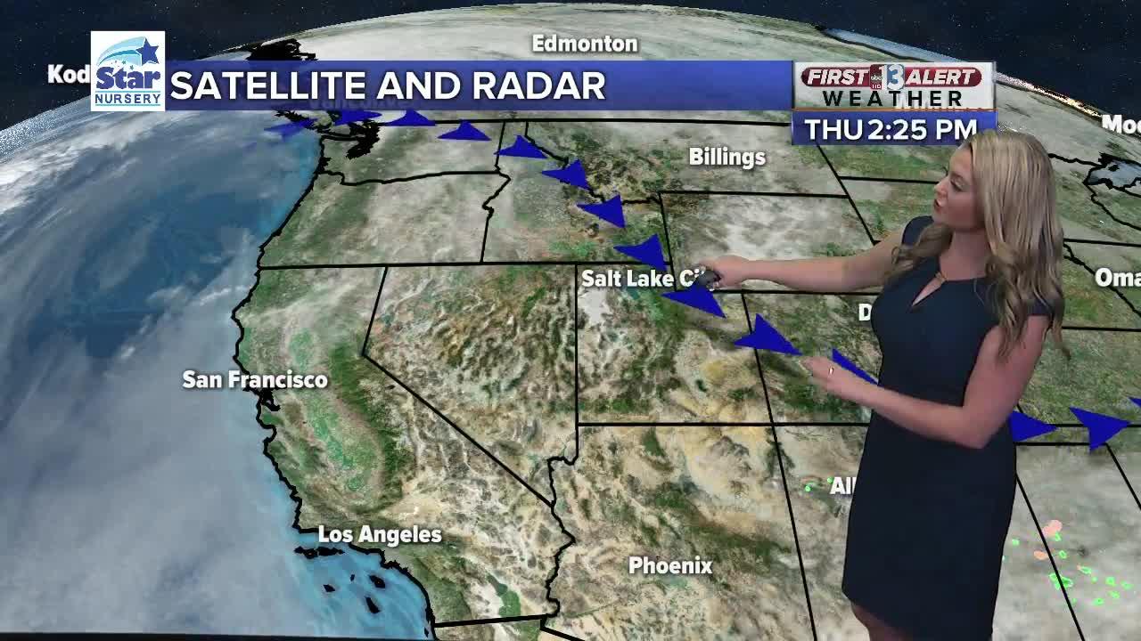 13 First Alert Las Vegas evening forecast | Nov. 7, 2019