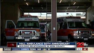 Hall Ambulance celebrates 50 years in Kern County