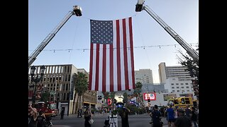 9/11 tribute and march in downtown Las Vegas