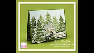 Winter Woods Card Making Tutorial