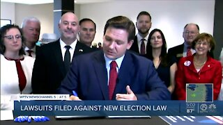New Florida election law prompts lawsuits