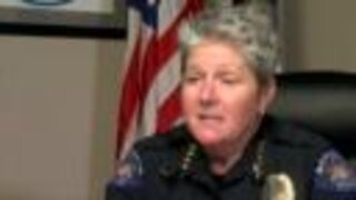 Aurora Interim Police Chief Vanessa Wilson discusses police use of force during Elijah McClain protest