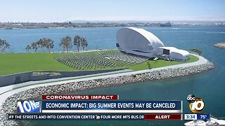 Big summer events may be canceled