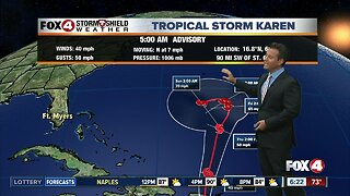 Tracking 3 Tropical Storms