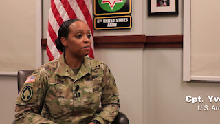 U.S. Army Capt. Yvette Tyson talks about Black History Month