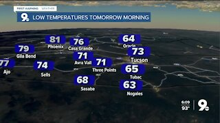 Summer-like heat carries into Fall