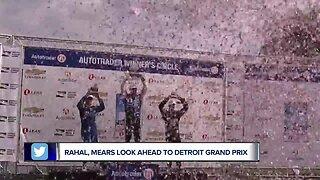 Graham Rahal, Rick Mears look ahead to Detroit Grand Prix