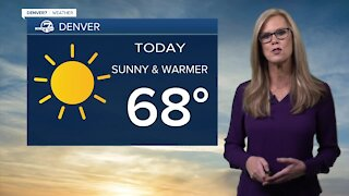 Thursday afternoon forecast 4/1