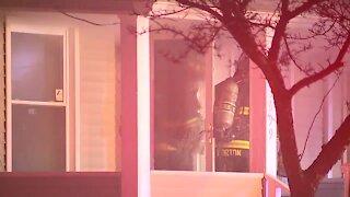 Firefighter injured battling house fire on East 142nd Street