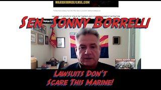 Sen. Sonny Borrelli gives Update on Arizona Audit - Lawsuits don't scare him