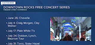 Downtown Rocks free concert series returns to Fremont Street Experience