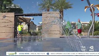 Las Vegas cooks at 116°, sets record as monsoon forecast shows little relief