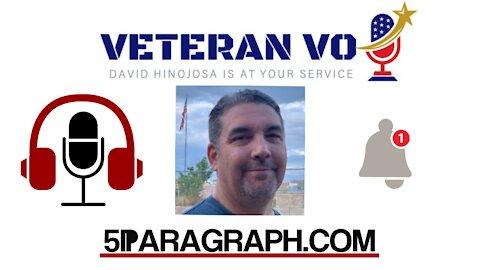 David Hinojosa Founder Of Veteran Voiceover