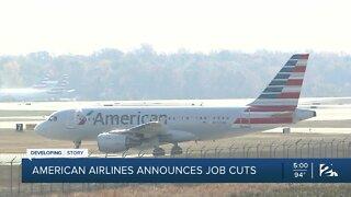 American Airlines announces job cuts