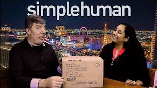 Simplehuman trash liner review