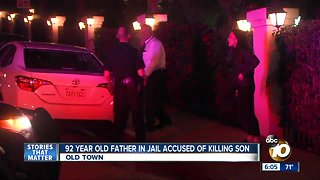 92-year-old father accused of killing son