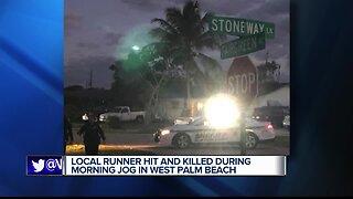 Runner hit and killed near West Palm Beach